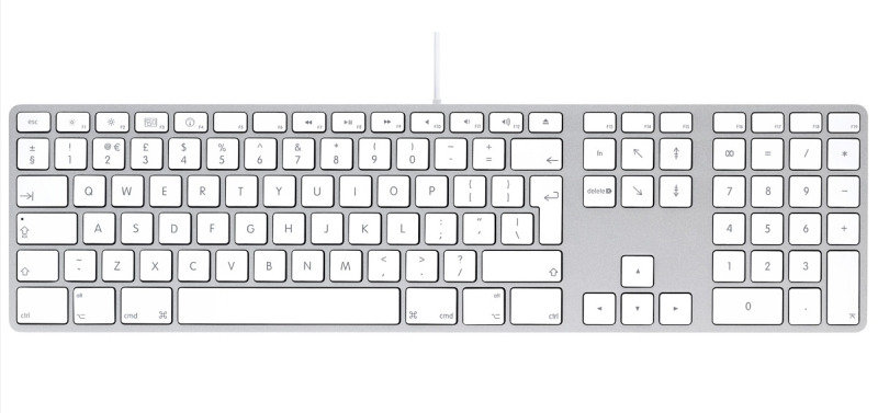 Apple Keyboard With Numeric Keypad Swedish