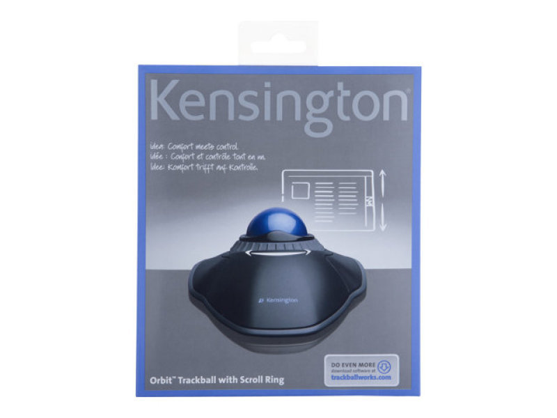 Kensington Orbit Trackball with Scroll Ring - USB