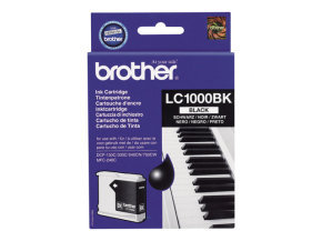 BROTHER LC1000BK PACK OF 2