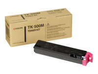 Kyocera TK 500M Magenta Laser Toner Cartridge 8000 Pages