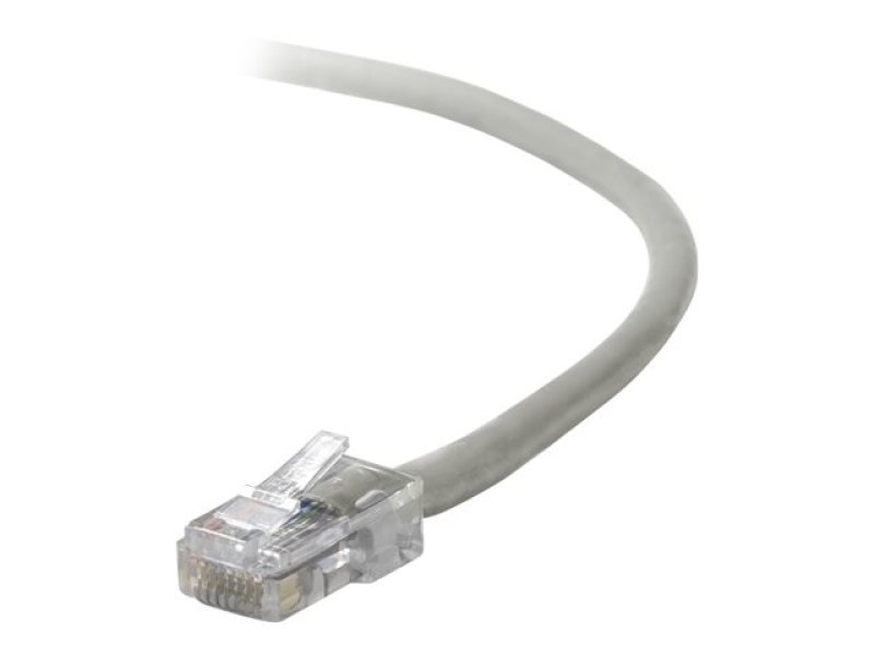 Compare cheap offers & prices of Belkin CAT5E Assembled Utp Patch Cable - Grey - 3m manufactured by Belkin