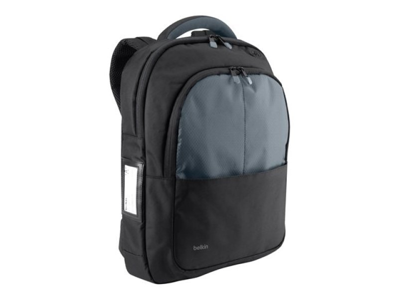 Belkin Backpack for 13 laptop BlackGray bagged and labelled packaging B2B077C00