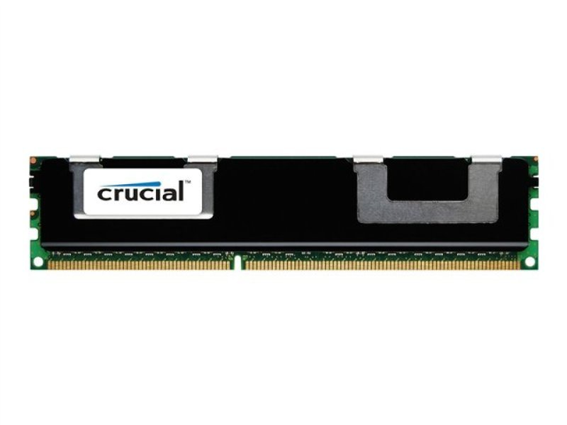 Crucial 16gb Kit (8gbx2) Ddr3 1600 Mt/s (pc3-12800) Cl11 Registered Rdimm 240pin