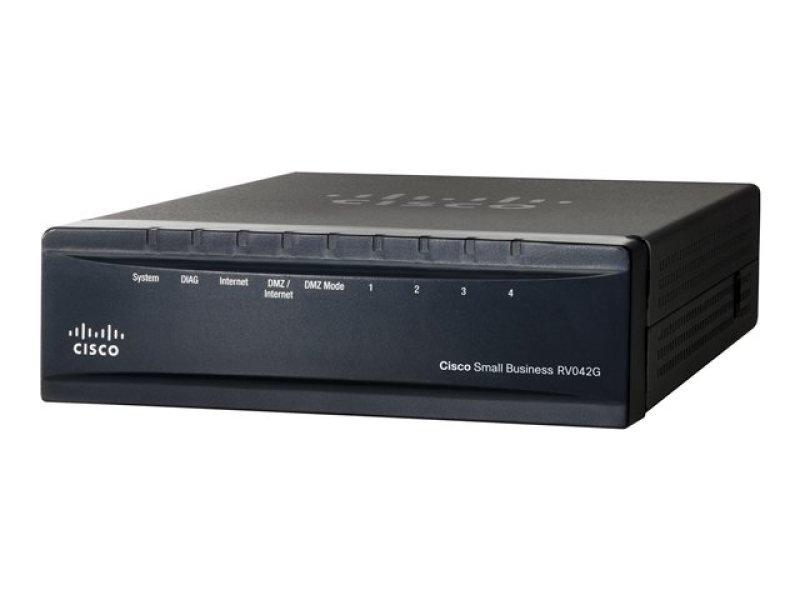 Cisco RV042G Gigabit Dual Wan Vpn Router - In