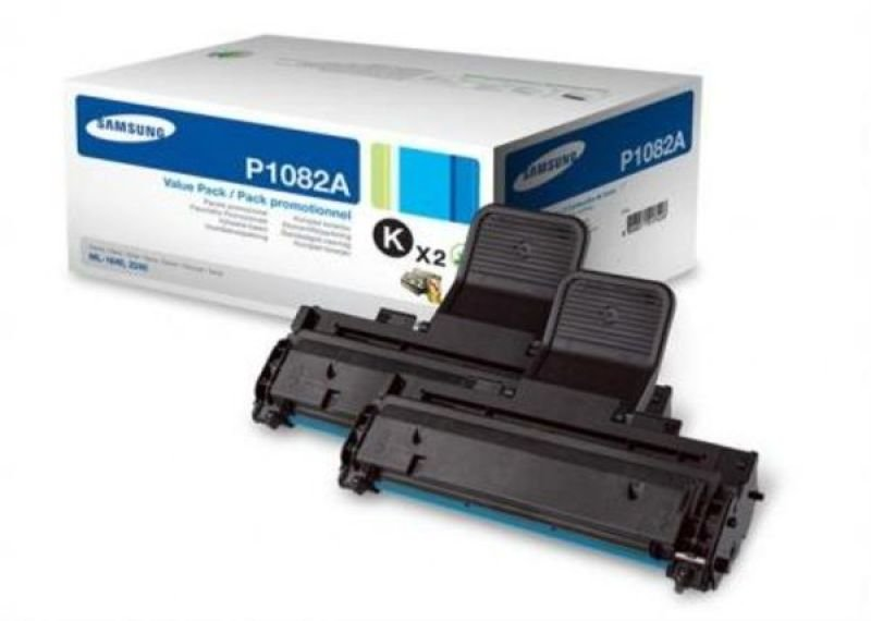 *Samsung MLT-P1082A Dual Pack Black Toner Cartridges - 2x 1,500 Pages