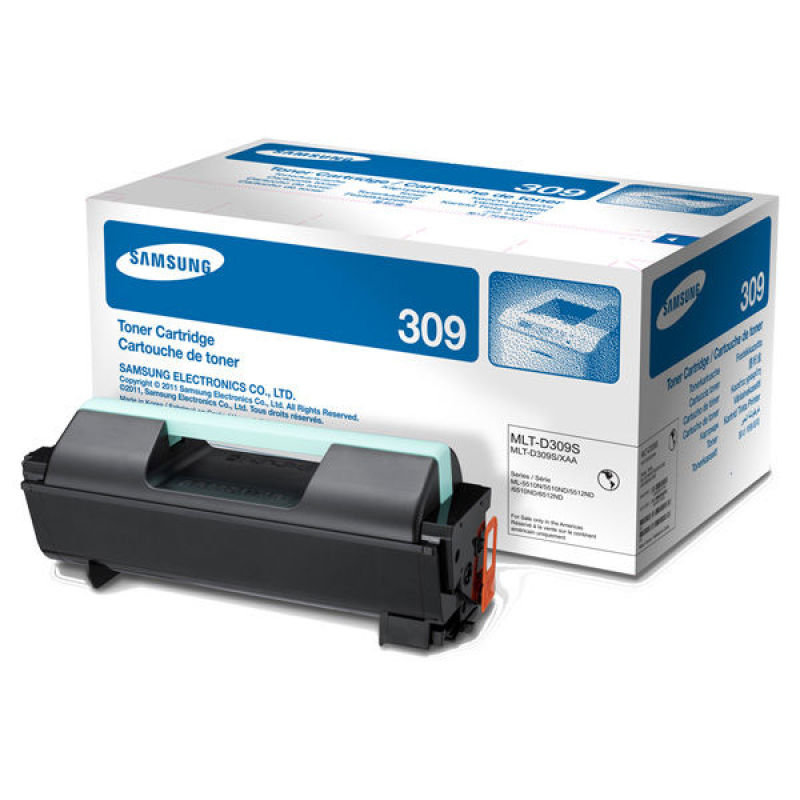 Samsung MLT-D309E Black Toner Cartridge - 40,000 Pages