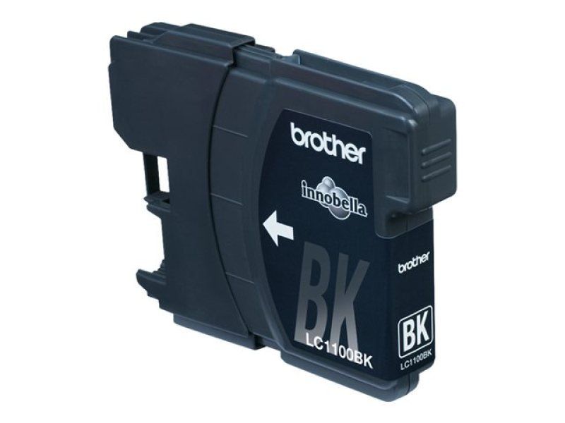 Brother LC1100BKBP2 Black Twin Ink Cartridges