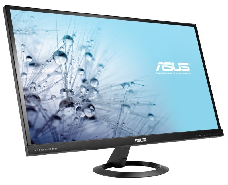 Asus VX279Q 27 LED  IPS 1920x1080 VGA HDMI Display Port  Speakers