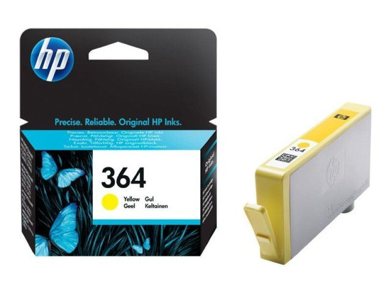 HP 364 Yellow Inkjet Cartridge