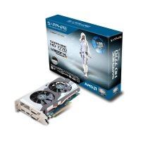Sapphire HD 7770 GHz Edition OC 1GB GDDR5 Dual DVI HDMI DisplayPort PCI-E Graphics Card