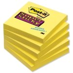 Post-it Super Sticky 76x76mm Notes Yellow (Pack of 12 x 90 Sheets)