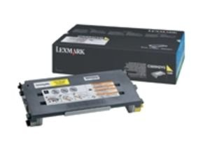 Lexmark C500 Yellow HY Toner Cartridge