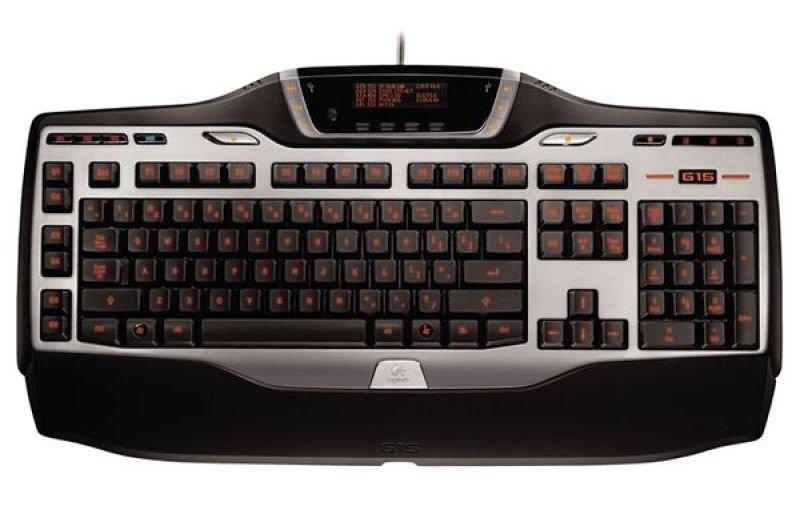 Logitech G15 Keyboard LCD GamePanel USB - UK Layout