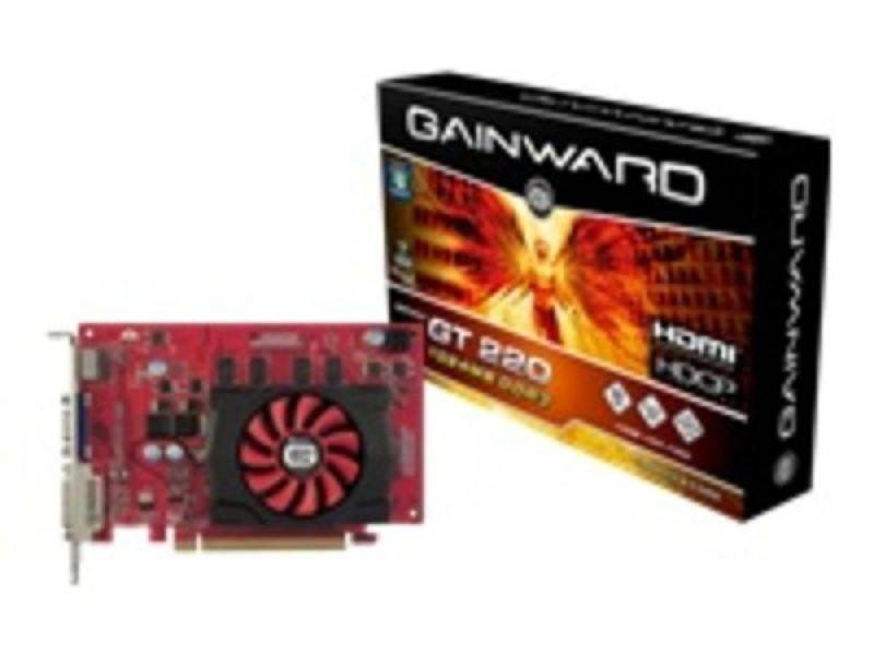 Gainward GT220 1GB DDR3 DVI VGA HDMI Out PCI-E Graphics Card