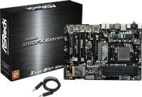 Asrock 990FX Extreme3 Socket AM3+ 7.1 Channel Audio ATX Motherboard