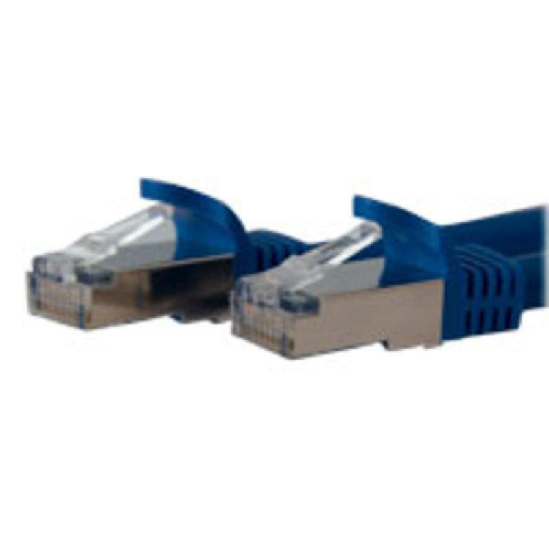 StarTech.com Shielded Cat6a Molded STP Patch Cable 2.1m Blue