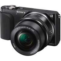 Sony NEX3NLB 16.1MP Camera - Black