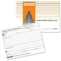 Chartwell Cvdr1z Vehicle Defect Report Pad