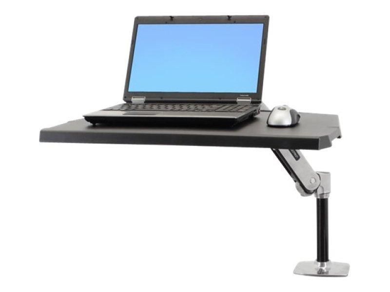 Image of 24-383-026 WorkFit-P, Ergotron Version, Polished Aluminum