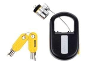 Kensington Microsaver Keyed Retractable Security Cable Notebook Lock