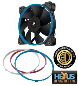 Corsair SP120 120mm High Pressure Fan for Radiators and Heatsinks 3 pin Single Pack