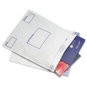 Postsafe Extra-Strong Peel and Seal Polythene Envelopes Opaque 400x430mm - 20 Pack