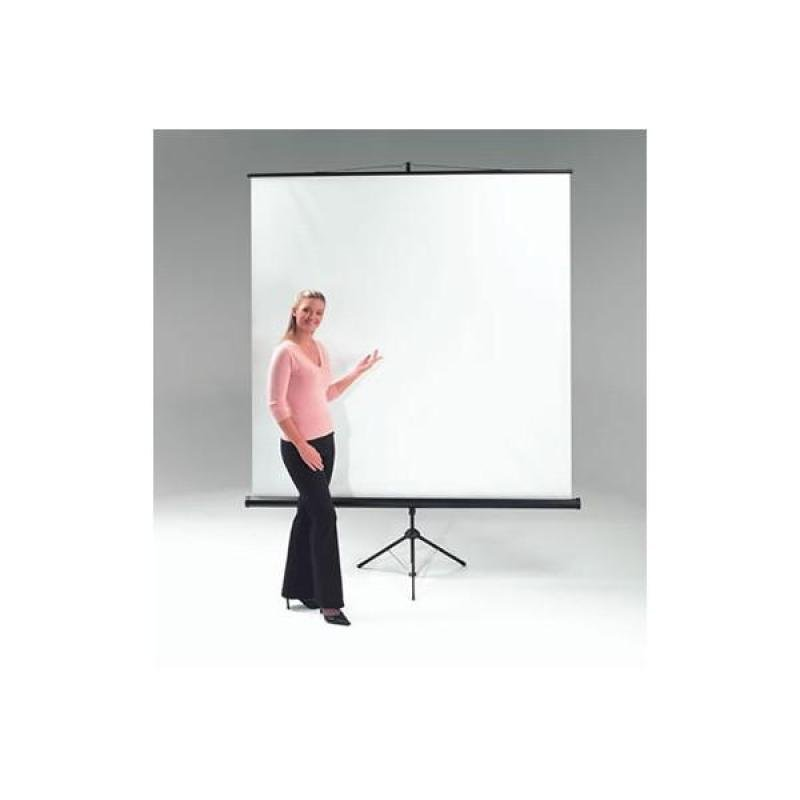 Image of Metroplan Budget Tripod Portable Projection Screen 150cm Wide