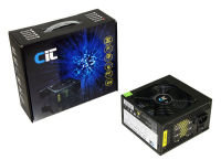 CIT 400W Dual 12V Rail PSU V2.2- 12cm Fan - 20+4pin 3x SATA 1x PCI-E