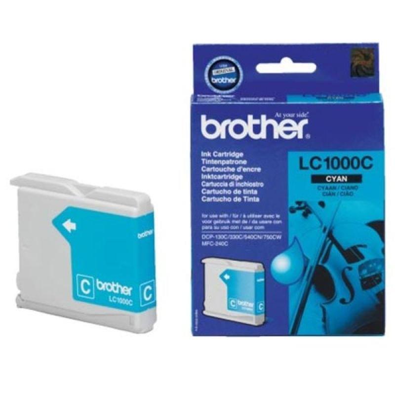 Brother LC1000C Cyan Ink Cartridge
