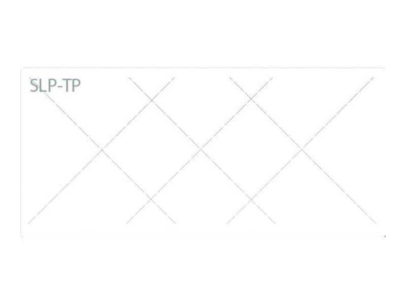 Slp-tp Tamper Proof Label - 54x25mm 760 Lab/roll 1 Roll/box In