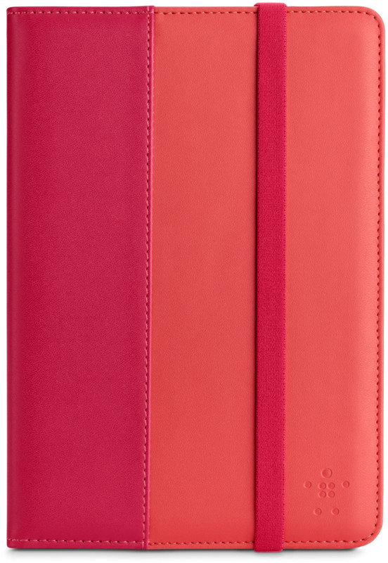 Belkin Pu Leather Portfolio Sleeve For Ipad Mini In Pink