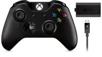 Xbox One Wireless Controller and Play and Charge Kit