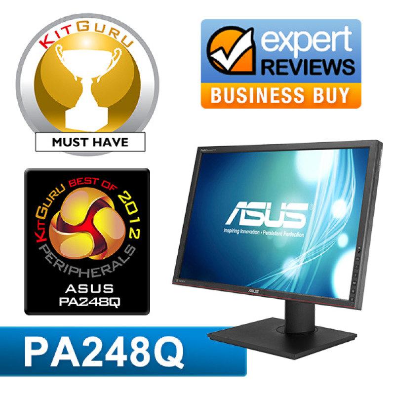 """Asus PA248Q 24"""" IPS LED LCD HDMI Monitor"""