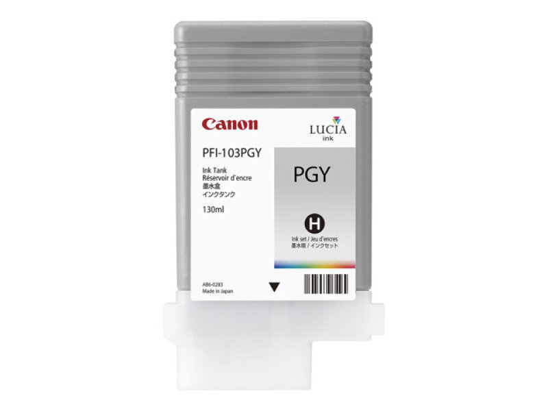 Canon PFI 103 PGY Photo Grey Ink Tank