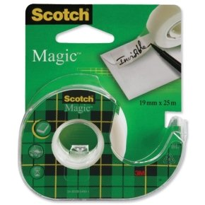 Scotch Magic Tape 19mm x 25m on Dispenser 8-1925D pk 12