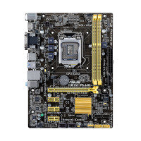Asus H81M-PLUS Socket 1150 DVI HDMI 8-Channel HD Audio mATX Motherboard