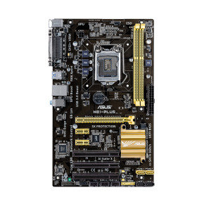 Asus H81-PLUS socket 1150 8-Channel HD Audio ATX  Motherboard