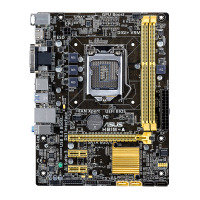 Asus H81M-A Socket 1150 DVI HDMI 8-Channel HD Audio uATX Motherboard
