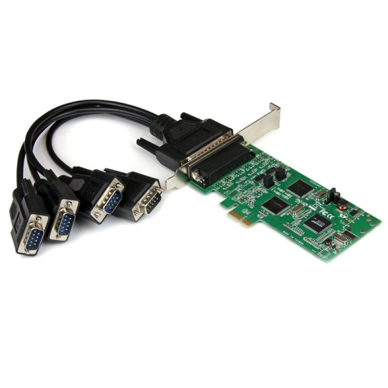 StarTech.com PEX4S232485 - 4 Port - PCI Express PCIe Serial Combo Card - 2 x RS232 2 x RS422 / RS485