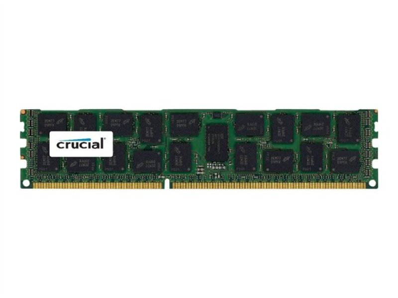 Crucial 16GB DDR3 PC3-12800 Registered ECC 1.35V 2048Meg x 72