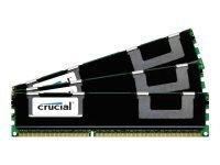 Crucial 48GB (16GBx3) DDR3-1866 RDIMM Memory Kit