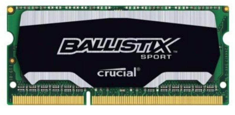Crucial Ballistix BLS4G3N169ES4CEU Sport 4GB DDR3 1600MHz Ballistix Sport SODIMM