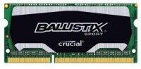 Crucial 4GB DDR3 1866MHz Ballistix Sport SODIMM Memory