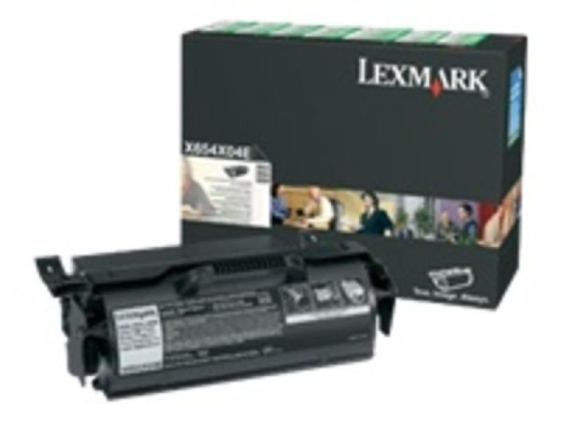 RETURN PROGRAM TONER CARTRIDGE - 36K PG F/ X654/ X656/ X658 LABEL