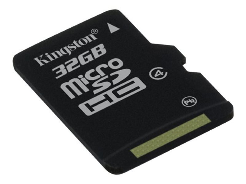 Kingston 32GB Class 4 MicroSDHC Card - With Adapter