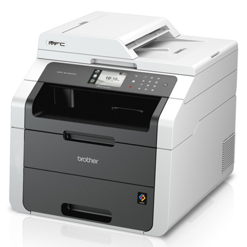 Brother MFC9140CDN MultiFunction Colour LED Laser Printer with Auto Duplex