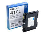 Ricoh Cyan GC-41CL Gel Cartridge