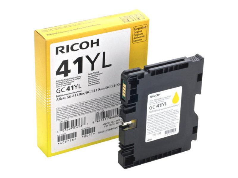 Ricoh GC-41YL Yellow Print Cartridge