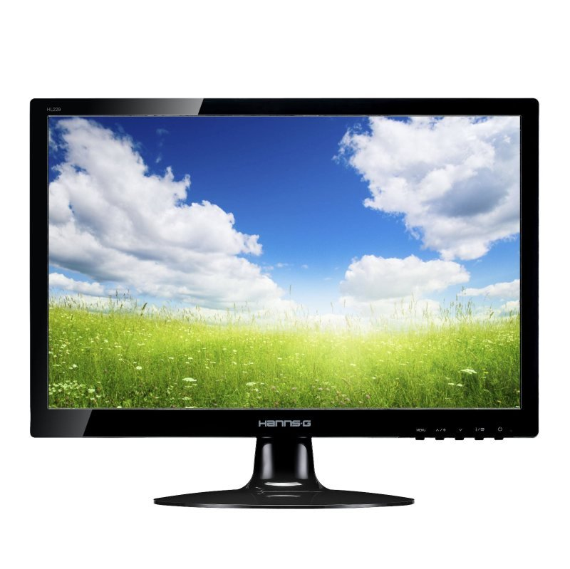 "HANNS.G HL229DPB 21.5"" LED LCD DVI Monitor"