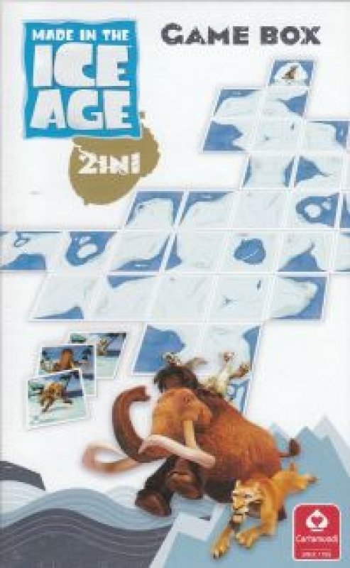 game box 2 in 1 ice age cardamundi
